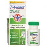 MediNatura T-Relief Arthritis Pain Relief Tablets 100 Tabs