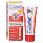 MediNatura T-Relief Pain Relief Ointment 2 oz Ointment Muscle Pain and Stiffness