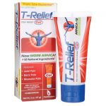 MediNatura T-Relief Pain Relief Gel 2 oz Gel Muscle Pain and Stiffness