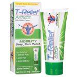 MediNatura T-Relief Arthritis Pain Relief Cream 2 oz Cream