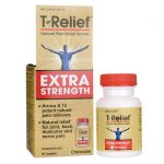 MediNatura T-Relief Extra Strength 90 Chewables Muscle Pain and Stiffness