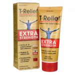 MediNatura T-Relief Extra Strength 3 oz Cream Muscle Pain and Stiffness
