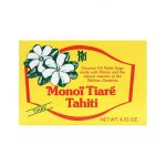 Monoi Tiare Soap Bar Gardenia (Tiare) 4.6 oz Bars