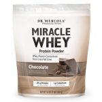 Dr. Mercola Miracle Whey Protein Powder – Chocolate 16 oz Powder
