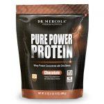 Dr. Mercola Pure Power Protein – Chocolate 31 oz Powder