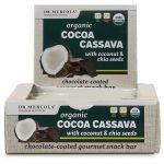 Dr. Mercola Organic Cocoa Cassava with Coconut & Chia Seeds 12 Bars Protein