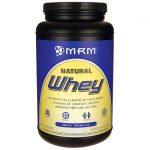 MRM Natural Whey – Rich Vanilla 32.6 oz Powder Protein