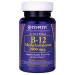 MRM Vitamin B-12 2,000 mcg 60 Lozenges B Vitamins