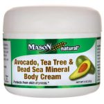 Mason Natural Avocado, Tea Tree & Dead Sea Mineral Body Cream 2 oz Cream