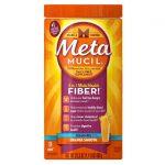 Metamucil Psyllium Fiber Sugar Free – Orange 23.3 oz Powder Colon Care
