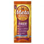 Metamucil Psyllium Fiber Sugar Free Orange 15 oz Powder Colon Care