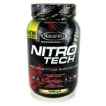 MuscleTech Nitrotech Whey Isolate Lean Musclebuilder – Vanilla 2 lbs Powder Protein