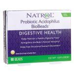 Natrol Probiotic Acidophilus Biobeads 2 Billion CFU 90 ct