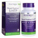 Natrol Mood Positive 5-Htp 50 Tabs Stress and Mood
