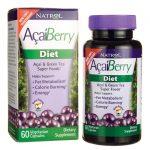 Natrol Acaiberry Diet 60 Veg Caps Health and Weight Loss