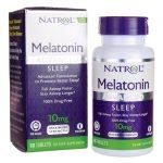 Natrol Melatonin Advanced Time Release 10 mg 60 Tabs Sleep and Relaxation