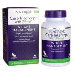 Natrol Carb Intercept with Phase 2 120 Veg Caps Weight Loss