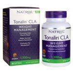 Natrol Tonalin Cla 1,200 mg 60 Soft Gels Weight Loss