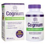 Natrol Cognium 60 Tabs Memory and Brain Health
