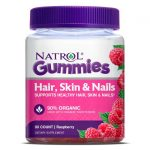Natrol Hair, Skin & Nails – Raspberry 90 Gummies