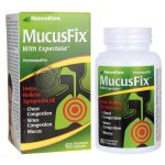 NaturalCare Mucusfix With Expectase 60 Veg Caps Allergies and Sinus Inflammation