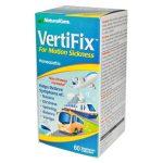 NaturalCare Vertifix For Motion Sickness 60 Veg Caps