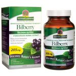 Nature's Answer Bilberry 205 mg 90 Veg Caps Vision Health