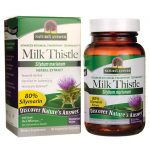 Nature's Answer Milk Thistle 60 Veg Caps Liver Health