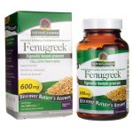 Nature's Answer Fenugreek 600 mg 90 Veg Caps Blood Sugar Support