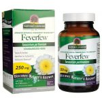 Nature's Answer Feverfew Standardized Herb 250 mg 90 Veg Caps Memory and Brain Health