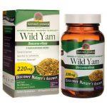 Nature's Answer Wild Yam 220 mg 60 Veg Caps Women's Health