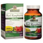 Nature's Answer Red Raspberry 950 mg 90 Veg Caps Digestive Health and Fiber