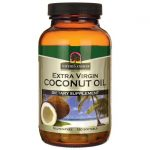 Nature's Answer Extra Virgin Coconut Oil 120 Soft Gels Essential Fatty Acids