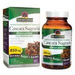 Nature's Answer Cascara Sagrada 850 mg 90 Veg Caps Colon Care