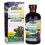 Nature's Answer Sambucus Pm Nighttime Formula 4 fl oz Liquid Immune Support