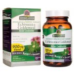 Nature's Answer Echinacea & Goldenseal 60 Veg Caps Immune Support