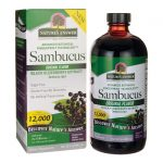 Nature's Answer Sambucus Black Elderberry Extract – Original Flavor 16 fl oz Liquid Immune Support