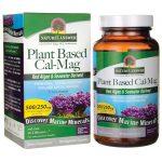 Nature's Answer Plant Based Cal-Mag 120 Veg Caps Bone Health