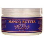 Nubian Heritage Mango Butter Infused with Shea Oil & Vitamin C 4 oz Cream Skin Care