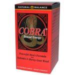 Natural Balance Cobra Sexual Energy 120 Veg Caps Sexual Health