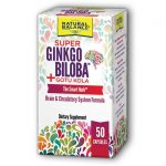 Natural Balance Super Ginkgo Biloba Plus Gotu Kola 50 Caps Memory and Brain Health