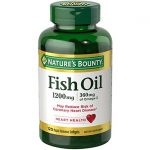 Nature's Bounty Fish Oil 1,200 mg 120 Soft Gels Essential Fatty Acids