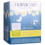 Natracare Organic Cotton Cover Ultra Pads – Regular 14 ct Women's Health