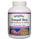 Natural Factors Stress Relax Tranquil Sleep 120 Chewables Sleep and Relaxation