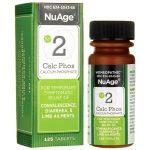 NuAge #2 Calc Phos 6X 125 Tabs