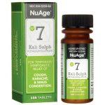 NuAge #7 Kali Sulph 6X 125 Tabs