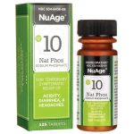 NuAge #10 Natrum Phos 6X 125 Tabs