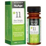 NuAge #11 Natrum Sulph 6X 125 Tabs