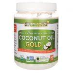 NutriGold Coconut Oil Gold 54 fl oz Solid Oil Essential Fatty Acids