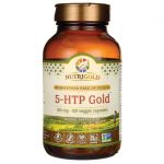 NutriGold 5-Htp Gold 100 mg 120 Veg Caps Stress and Mood